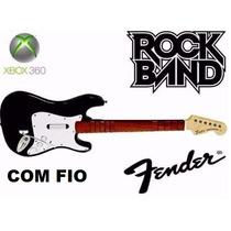 Guitarra Origin Fender Com Fio Xbox Rock Band Guitar Hero