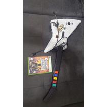 Guitarra E Jogo Guitar Heroes 3 Xbox 360