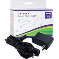 Fonte Para Sensor Kinect Xbox 360 - Bivolt Adaptador + Cabo