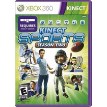 Kinect Sports Season Two Original Xbox 360 - Lacrado