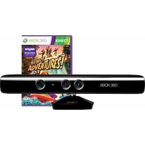 Kinect Sensor Xbox 360 Original + Jogo Adventures