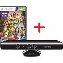Kinect Xbox360 Usado Super Conservado + Jogo Kinect Adventur