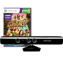 Sensor Kinect Xbox 360 + Jogo Kinect Adventure Original
