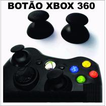 Botao Analogico Controle Xbox360 (par)- Original - Preto