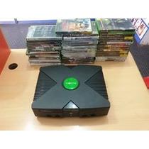 Xbox Clássico + 43 Jogos Originais