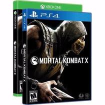 Mortal Kombat X Xbox One Original Lacrado Mídia Física