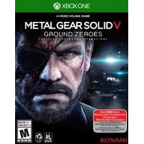 Xbox One Metal Gear Solid V 5 : Ground Zeroes Mídia Física