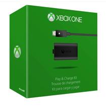 Kit Play And Charge Novo E Lacrado Para Xbox One