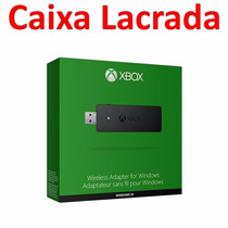 Adaptador Sem Fio Controle Xbox One Wireless Pc