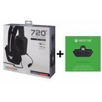 Headset Tritton 720+ 7.1 Surround + Adaptador Áudio Xbox One
