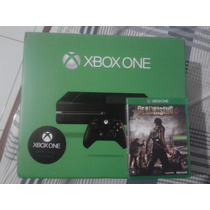 Xbox One Novo Sem Uso Na Cx 1 Jogo