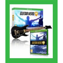 Guitarra Guitar Hero Live Rock Band Xbox One Original C Jogo