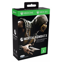 Controle Xbox One 360 Original Mortal Kombat X Fight Pad