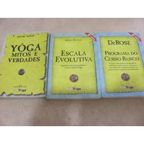 Uni Yoga Kit 3 Livros Veja Os Titulos