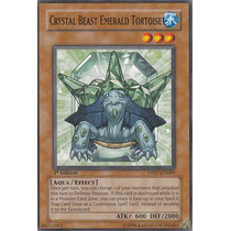 Yu- Gi Oh Crystal Beast Emerald Tortoise - Dp07-en003