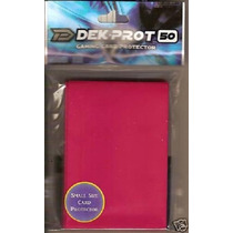Sleeve Dek Prot Yu Gi Oh E Vanguard - Rose Red Rosa Choque