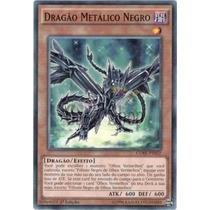 Yugioh Carta Dragão Metalico Negro Core-pt022