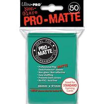 Ultra Pro Sleeves Pro-matte Black(preto) E Outras Cores