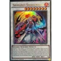 Yugioh- Carta Shiranui Shogunsaga Bosh-pt054 Ultra Rara