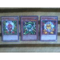 Yu-gi-oh Combo Set Com 3 Cards Cartas Gadget Yugi