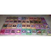 Lote De 40 Mini Cartas De Yu-gi-oh, Baseadas Em Seto Kaiba