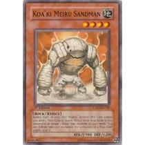 Yugioh Carta Koaki Meiru Sandman Tshd-en028