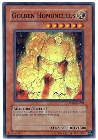 Yugioh Wc6-en001 Golden Homunculus - Super Rare