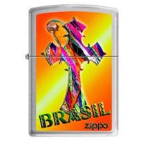 Isqueiro Zippo Brasil Ribbon Cross 200 Edição Limitada 2013