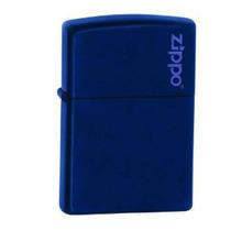 Isqueiro Zippo - Azul Marinho Fosco Com Logo 239zl