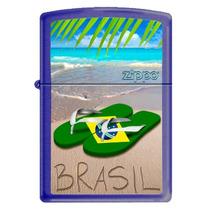 Isqueiro Zippo - Brasil Flip Flop 229 - Edição Limitada 2013