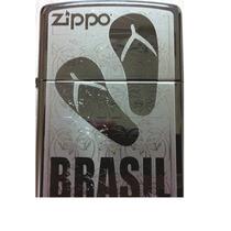 Isqueiro - Zippo Brasil Flip Flops 150 Edição Limitada 2013