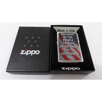 Zippo Right Of The People (direitos Do Povo) Original Novo