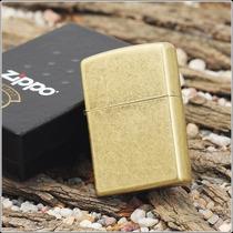 Isqueiro Zippo - Flat Antique Brass 201fb