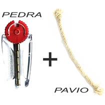 Kit Pedra + Pavio Para Isqueiros Zippo Excelente Qualidade!