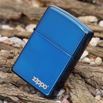 Isqueiro Zippo - Azul Saphire Com Logo