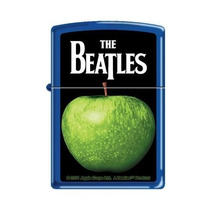 Isqueiro Zippo - The Beatles - Green Apple - Royal Blue Matt