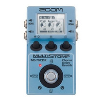 Pedal Pedaleira Zoom Multistomp Ms-70cdr