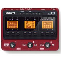 B3 Pedaleira Zoom P/ Baixo B3 Usb Superior B2.1u + Fonte