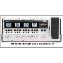 Pedaleira Para Guitarra Zoom G5 Guitar 145 Efeitos, 05368