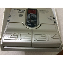 Pedaleira Zoom 505 Japan, Caixa Original, Manuais, Perfeita!