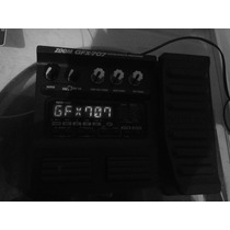 Pedaleira Zoom Gfx707 C/ Manual