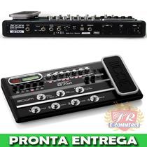 Pedaleira De Guitarra Zoom G7 .1ut Valvulada Original
