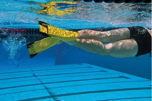 Pin finis z2 zoomer fins blue size e 23500272 product for Pinne x piscina