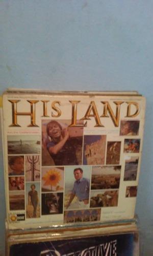 Lp Tso His Land With Cliff Richard/cliff Barrows Raro Original