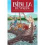 Bíblia Ilustrada Infantil Histórias Crianças 184 Pág Frete G
