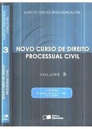 Livro Novo Curso De Direito Processual Civil V.3 Marcus Original