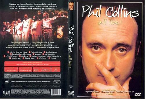 Dvd Lacrado Phil Collins All Live Original