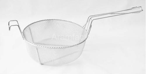 Cesto P/ Espaguete Inox - 35 X 12 Cm - Aramfactor