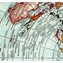 Mapa Gleason 60cmx84cm Terra Plana Para Fazer Quadro
