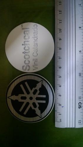 Adesivo Logo Yamaha 4,8 Cm Original